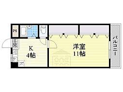 第一有隣マンション[2階]の間取り