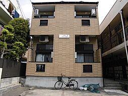 愛知県名古屋市昭和区菊園町5の賃貸アパートの外観