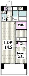 横浜市営地下鉄ブルーライン 上永谷駅 徒歩13分の賃貸マンション 2階1LDKの間取り