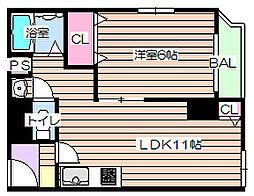 メゾン ドゥ レイナIII[2階]の間取り