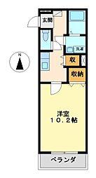 ガーデンハイツSEIKA[3階]の間取り