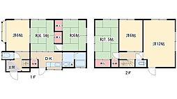 [一戸建] 千葉県柏市酒井根1丁目 の賃貸【千葉県 / 柏市】の間取り