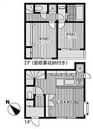 [一戸建] 東京都町田市東玉川学園1丁目 の賃貸【/】の間取り