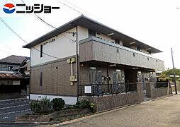 愛知県名古屋市中川区明徳町1丁目の賃貸アパートの外観