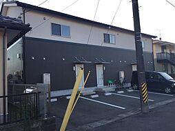 福島県いわき市泉玉露1丁目の賃貸アパートの外観