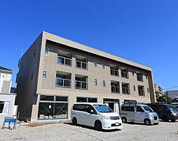 埼玉県川口市長蔵新田の賃貸マンションの外観