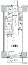 ユリカロゼ東京イースト[2階]の間取り
