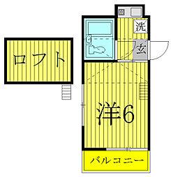 さくら館[3階]の間取り