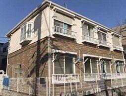 東京都品川区西中延2の賃貸アパートの外観