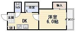 ウィンライフ滝井[4階]の間取り