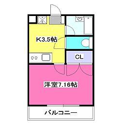 ソレーユ小川[1階]の間取り