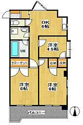 セーフズマンション[3階]の間取り