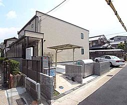 京都府宇治市広野町東裏の賃貸アパートの外観