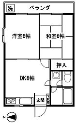 花小金井駅 6.7万円