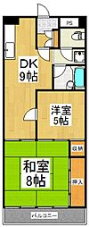 シオミプラザセブン[5階]の間取り