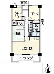 ARC−EN−CIEL21[2階]の間取り