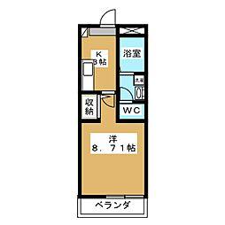 K−5[2階]の間取り