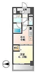 MEIBOU TESERA(メイボーテセラ)[5階]の間取り