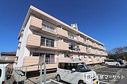 愛知県岡崎市河原町の賃貸マンションの外観