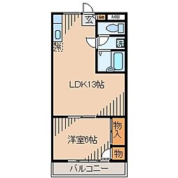 エクシード21[305号室]の間取り