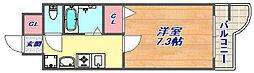 コンフォート六甲[502号室]の間取り