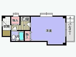 シャルマンフジ下松壱番館[3階]の間取り