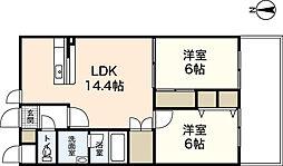 ステラkoi[2階]の間取り