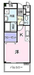 ドミトリーハウス湘南[4階]の間取り