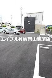 岡山県岡山市南区福成3の賃貸アパートの外観