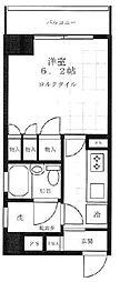東京都墨田区太平1丁目の賃貸マンションの間取り