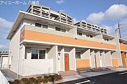 福岡県北九州市若松区北湊町の賃貸アパートの外観