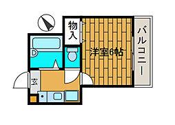 ロッシェル二番館3号棟[1階]の間取り