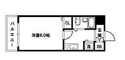 メロディーハイム淡路[1階]の間取り