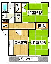 トヨコーポ[2階]の間取り