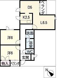 Flat−G[2階]の間取り