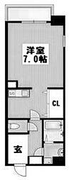 イーストコート新大阪[602号室]の間取り