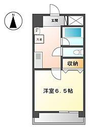 スカイコート天塚[3階]の間取り