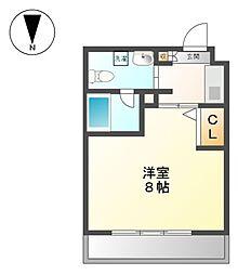 レジディア白壁[6階]の間取り