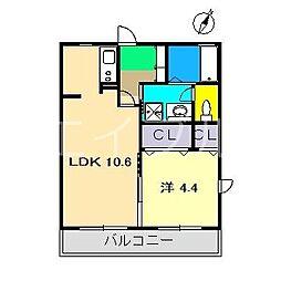 シャーメゾンURAYAKA[1階]の間取り