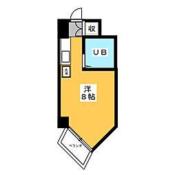 柊五番館[3階]の間取り