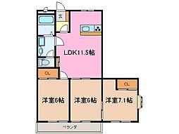 MO−VI[2階]の間取り