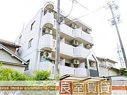 愛知県名古屋市瑞穂区彌富町字月見ケ岡の賃貸マンションの外観