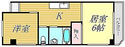 東京都江東区海辺の賃貸マンションの間取り