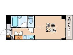 オプスMITSUYA[1階]の間取り