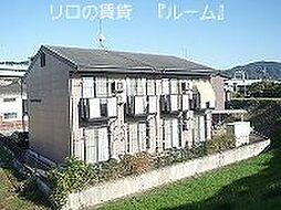 福岡県福岡市博多区金の隈2丁目の賃貸アパートの外観