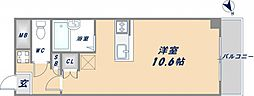 大阪府東大阪市菱屋西1丁目の賃貸マンションの間取り