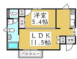 ECO Station HOUSE 並木[2階]の間取り