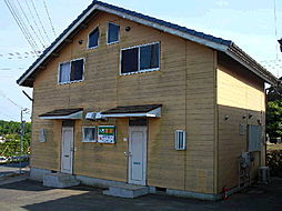 茨城県鉾田市玉田の賃貸アパートの外観