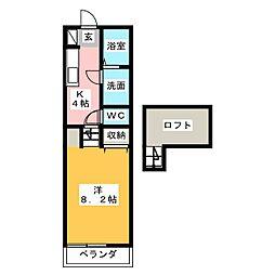 トップハウス南玉垣2[1階]の間取り