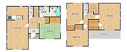 収納豊富で、各居室も広々しています